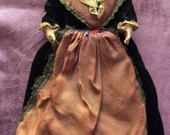 Old doll, Miniature française de Collection