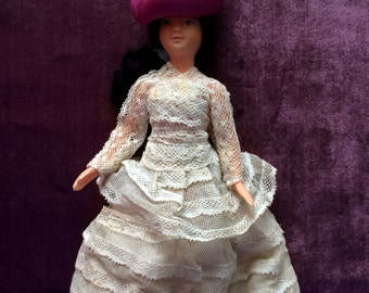 Old doll, French collection PetitCollin Miniature
