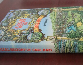 A Social History of England by Asa Briggs. Hardback book.