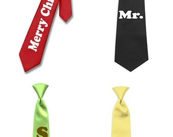 Personalized Ties, Customized for Men or Women, for Events, Community Festivals, Charity Fundraisers and Businesses