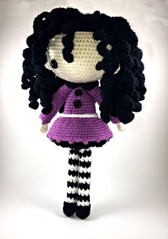 Amigurumi Glasses : Josefina Amigurumi Doll Crochet Pattern PDF by CarmenRent ...