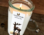 Coconut Wax Jar Candle 10 oz