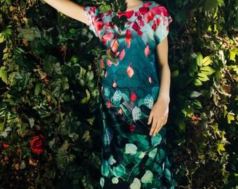 Royal Garden - maxi dress