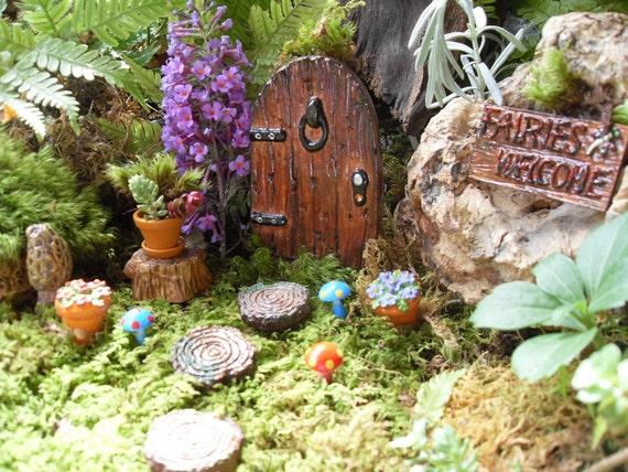 fairy door fairy garden kit fairy garden doorcomplete fairy