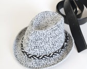 Baby Fedora Hat Toddler Fedora Hat Crochet Trilby Hat Newborn Photo Props Baby Shower Gift Cute Hats by Mila Crochet Cotton Summer Hat Boys