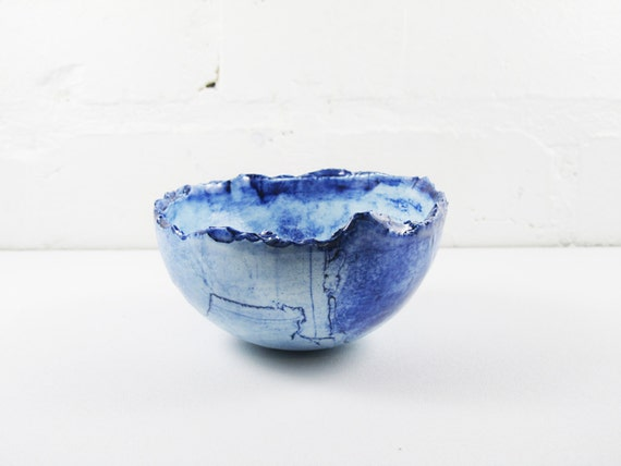 Layered Bowl - Deep Blue