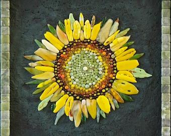 Sunflower Mosaic Etsy