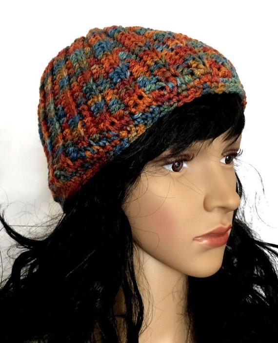 Outlander Autumn Trees Knit Slouchy Hat - Claire Diana Gabaldon Cap Beanie Unisex Winter Accessories