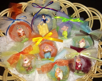 Snow White and the Seven Dwarves Ornament Set One of a Kind