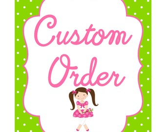 CUSTOM ORDER Baby Safari Animals