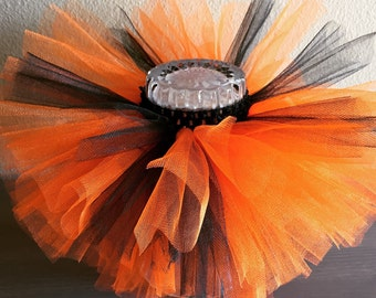 Halloween Tutu, Black and Orange tutu, Black tutu, Orange Tutu, Baby tutu, infant tutu, toddler tutu, NewbornTutu, Holiday Tutu, Photo Prop
