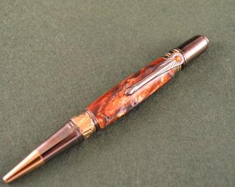 "Beautiful ""Art Deco"" Inspired Ballpoint Pen"
