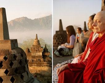 Jetsunma Tenzin Palmo, Meditation in Borobudur, July 2015