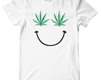 Pot Smile American Apparel T-Shirt