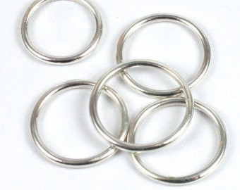 Solid Silver 925 Handmade 1.8mm Stacking Ring for your thumb or finger