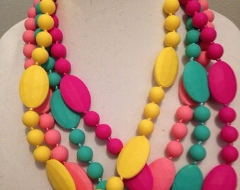 Silicone Teething Necklace - Nursing Necklace