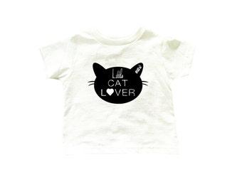 Cat lover bodysuit, cat bodysuit, little cat lover bodysuit, meow bodysuit, baby clothes, baby shower gift, cat lovers