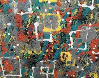 "Original Acrylic Painting "" Ventanas a la Primavera"""