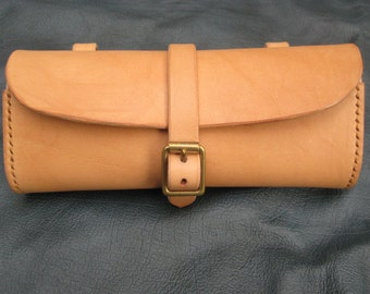 Leather bicycle tool bag/tool pouch