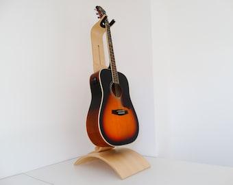 Wooden guitar stand - Beech