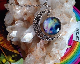 Cosmic Moon Necklace