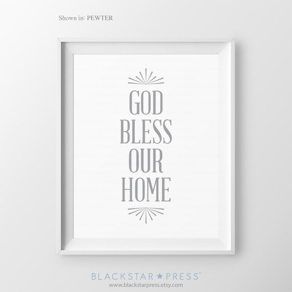 entryway sign foyer wall art front door sign god by. Black Bedroom Furniture Sets. Home Design Ideas