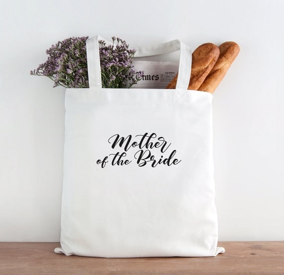 Mother of the Bride Tote, Wedding Tote, Wedding party gift