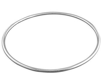 Anti-Slave Silver Bangle ethical jewelry