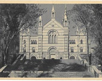Rapallo, Santuario Di Montallegro, Italy, 1943 Unused  Postcard