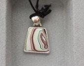Fordite/Detroit Agate small size pendant
