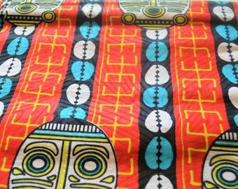 Halloween costumeFabric , African Fabric by 6 yards,Curtains fabric, Cushion fabric, Pillow case fabric , wall decor fabric
