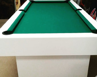8Ft Pool Table & Ping Pong Top !