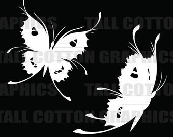 Butterfly (2) Vinyl Decal #BS072