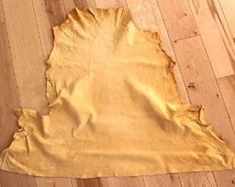 Large chamois leather skin shammy approx 3 sq ft