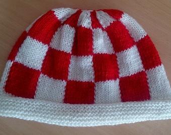 Boing Ball Beanie Hat. Amiga Boingball Hat.