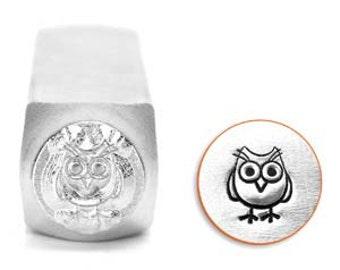 Impress Art 6mm Hootie Owl Metal Stamp (SC1513-I-6MM)