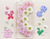 iPhone 6s Case Floral, iPhone 6s Plus Case Clear, Pressed Flower iPhone 6s Case, Clear iPhone 6s Case, iPhone 6s Plus Flower Case, iPhone 5s