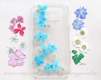 Natural Flower Phone Case, iPhone 6 Case, iPhone 5 Case, iPhone 5c Case, iPhone 5s Case, iPhone 6 Plus Case, White Case, Pink Case