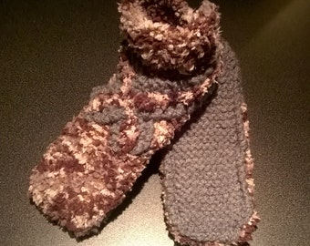 slippers / knitted slippers / knitted slippers