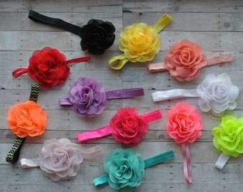 Rose Headband, Spring Headband, Easter Headband, Easter Egg Headband, Everyday Headband
