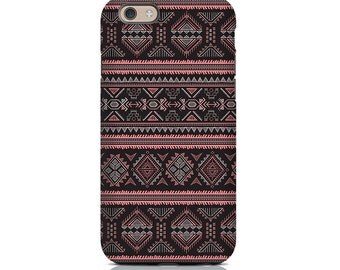 iPhone SE Case, iPhone SE Cases, iPhone SE Cover - Purple Aztec iPhone Case