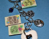 Assorted Classic Books Keychain-SOLD