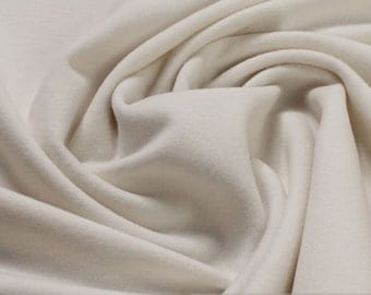 Fabric new wool cashmere white warm soft lambswool