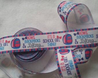 Bows and Bing ribbon I Grosgrain Ribbon   Bow Making Ribbon   Grosgrain Bow Ribbon  