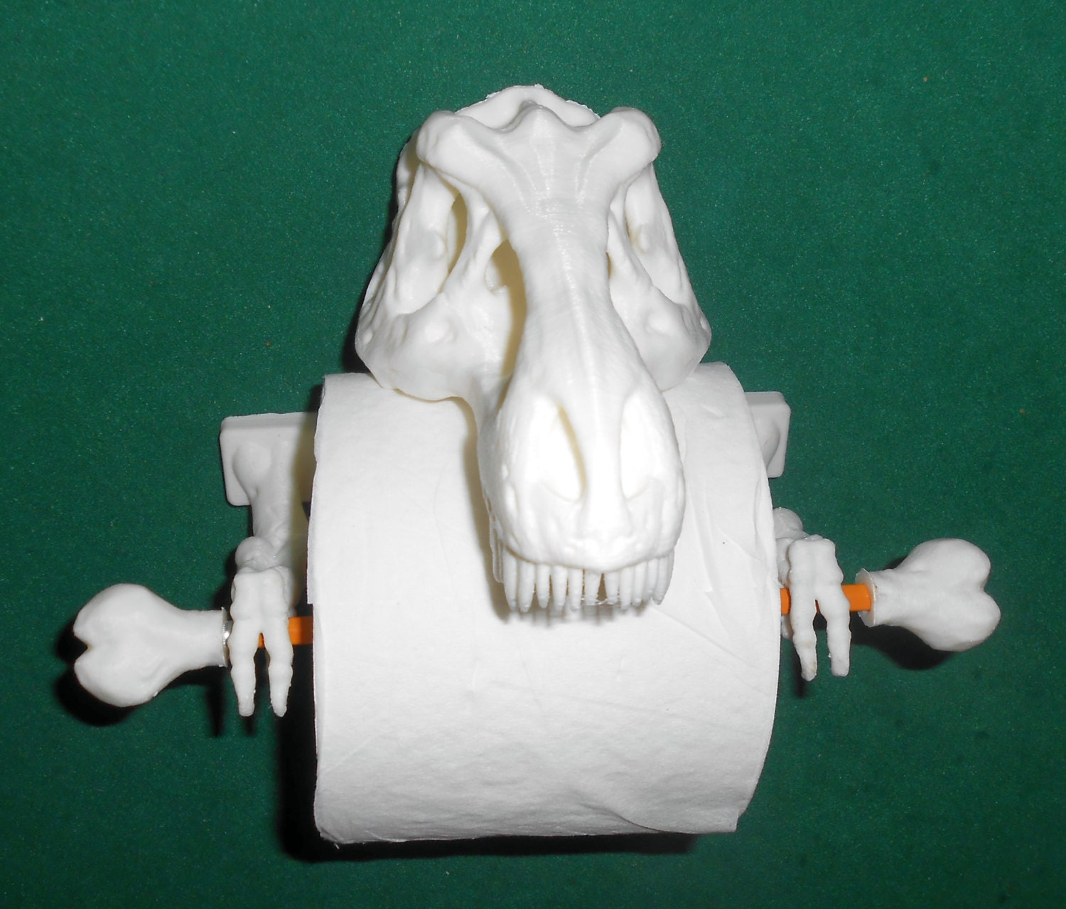 T Rex Toilet Paper Holder 3d Printed Bathroom Accessories