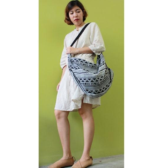 Cotton Bag Hippie bag Hobo bag Shoulder bag Sling bag Messenger bag Tote bag Crossbody Purse Women bag Handbags (SH44)