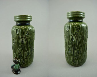 Vintage vase / Scheurich / 288 22 / Coral | West Germany | WGP | 60s