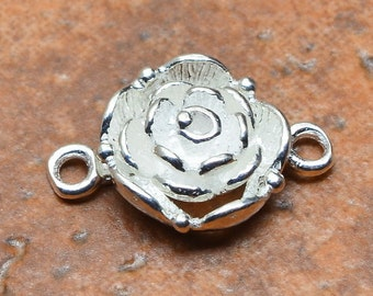 Fancy  Sterling silver  toggle clasp  ( #J1434)