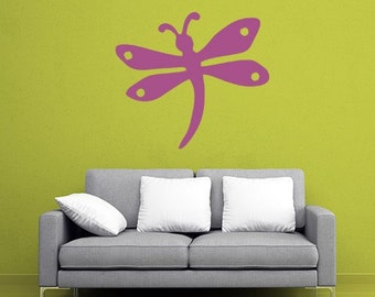 Dragonfly Wall Mural (Choose Size)