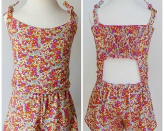 Baby Girl Dress Jumpsuit Pattern: Playsuit pattern baby girl clothes girl dress pattern
